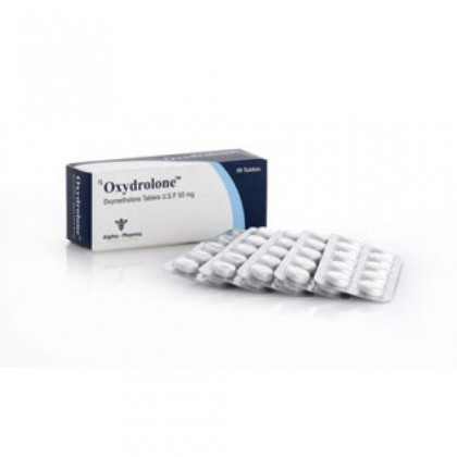 Oxydrolone Alpha Pharma (50 tab)